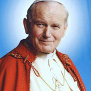 John Paul II Relic Blessing