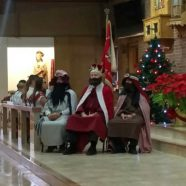 Celebrating the arrival of the Three Wise Men at St. Blase Church